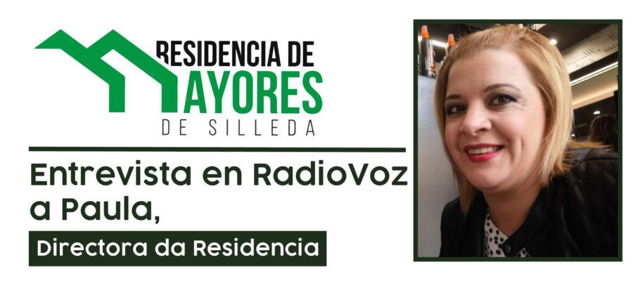 Entrevista Paula Guzmán Radio Voz